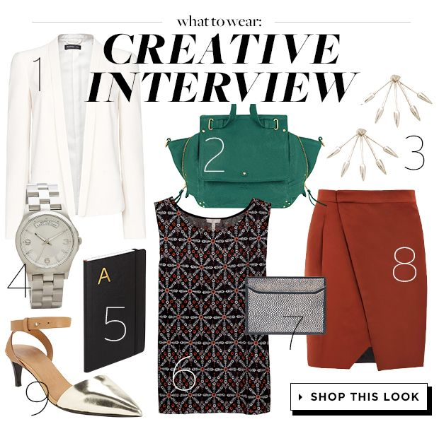 Get Hired With This Creative Job Interview Outfit