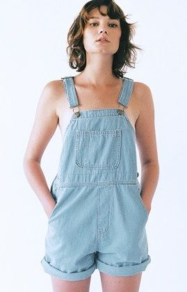 American Apparel  Denim Short-All