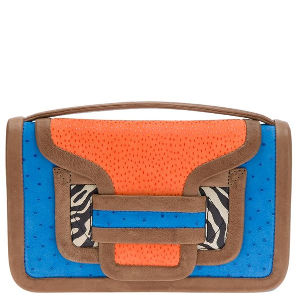 Pierre Hardy  Colour Block Envelope Clutch