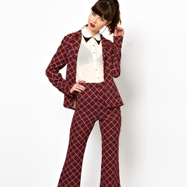 Sister Jane  Pants in Geometric Print