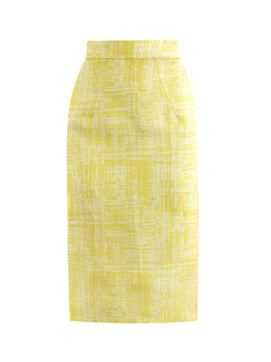 Emilia Wickstead  Margerita Pencil Skirt