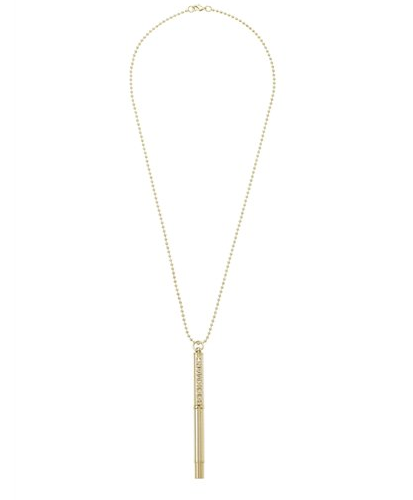 Marc Jacobs Bookmarc Pen Necklace