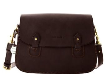 Dooney and Bourke Dooney and Bourke Double Button Flap Bag