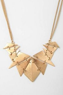 Urban Outfitters  Geometry Class Necklace