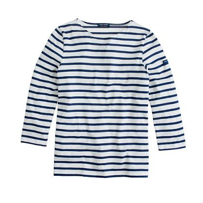 Saint James for J.Crew Three-Quarter Sleeve Tee