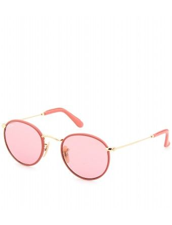 Ray-Ban Leather Trimmed Sunglasses