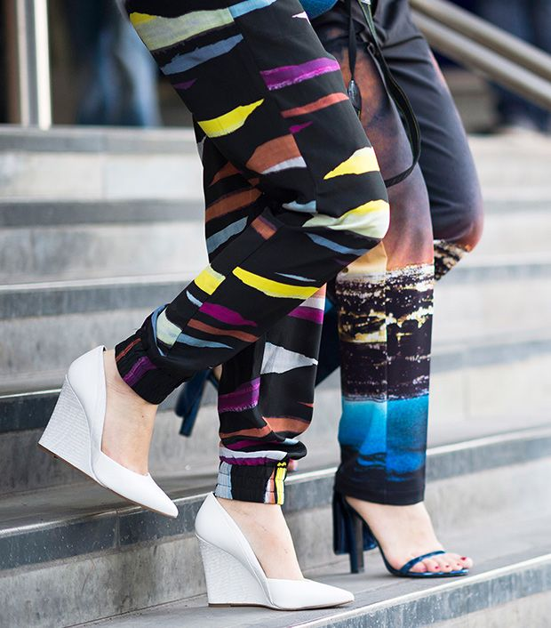 """<p>Style note: Make pointy white wedges your new go-to shoes.</p>  <p>Source: <a href=""""http://le-21eme.com"""" target=""""_blank"""" title=""""Le 21eme"""">Le 21eme</a></p>"""