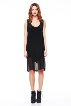LNA LNA Sherwood Silk Tank Dress