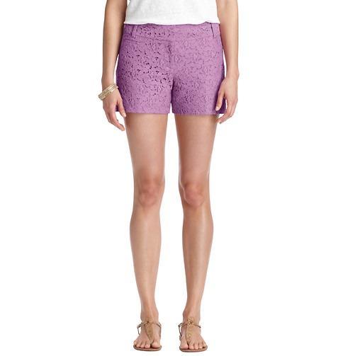 LOFT  Marisa Garden Lace Shorts