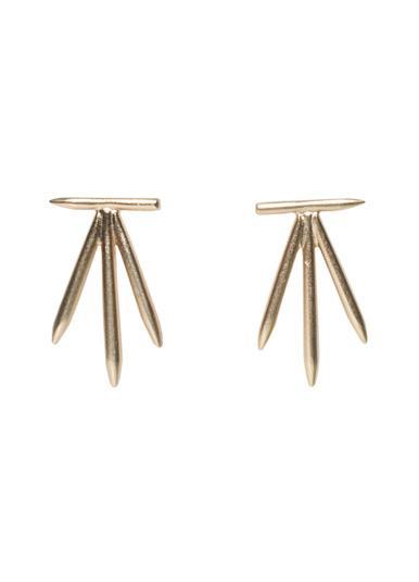 2B x RT Spike Earrings