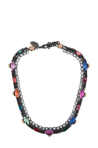 Iosselliani Iosselliani Fuses Stones Necklace