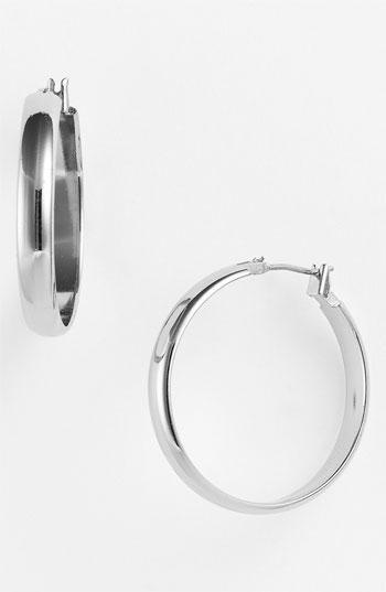 Anne Klein Wide Hoop Earrings