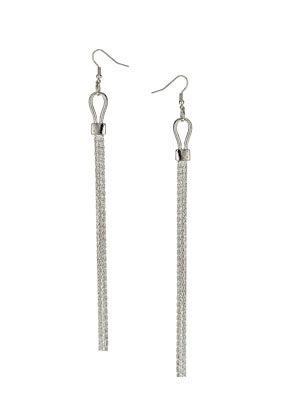 Topshop Chain Drop Earrings