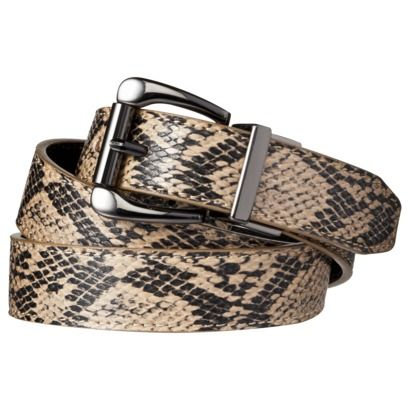 Merona  Snake/Smooth Reversible Belt