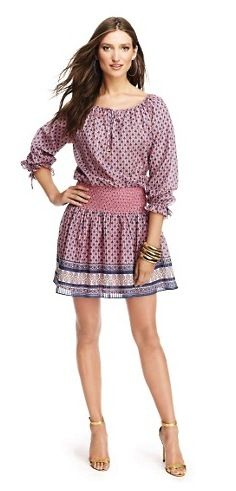 Juicy Couture Juicy Couture Smocked Starseed Blossom Dress