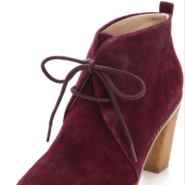 Kors by Michael Kors  Brown Lena Lace up Booties