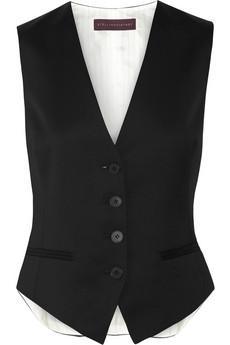 Stella McCartney Daisy Wool-Twill Vest