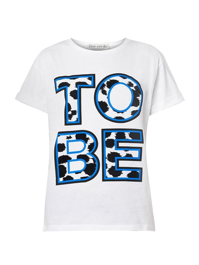 Etre Cécile To Be-Print Cotton T-shirt