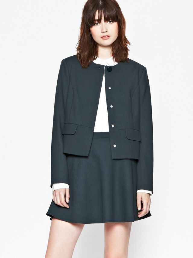 French Connection Whisper Ruth Boxy Jacket