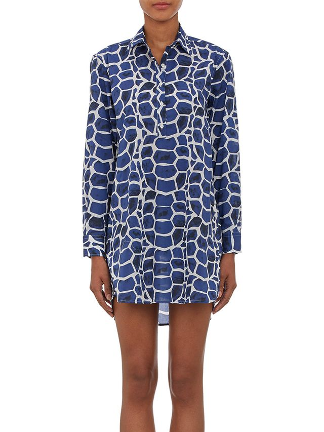 Vilebrequin Patterned Shirt Dress