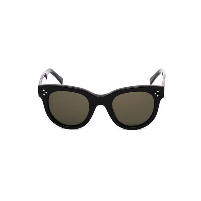 Céline Round-Framed Acetate Sunglasses