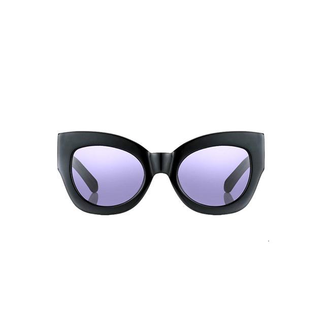 Karen Walker Black Northern Lights Sunglasses