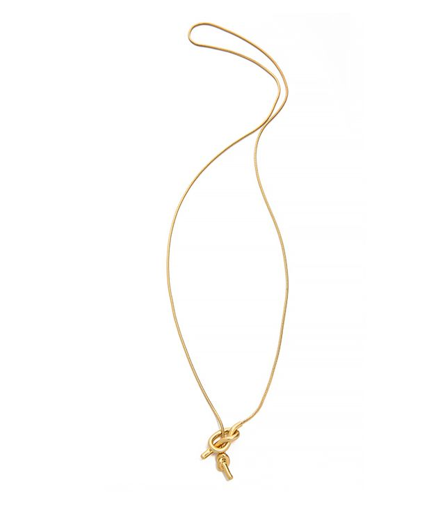 Madewell Knotshine Necklace