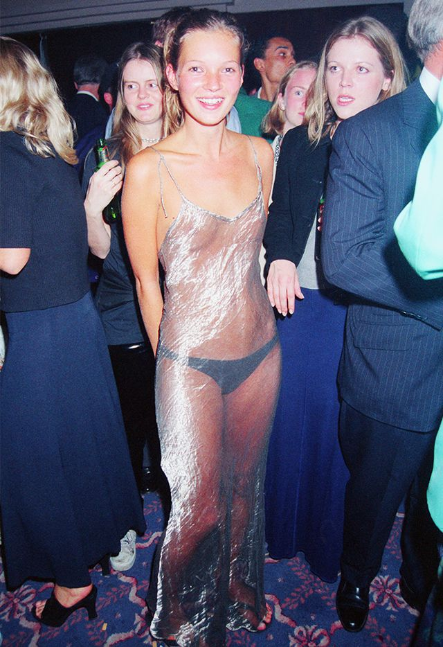 <p><strong>Who:</strong> Kate Moss<br />