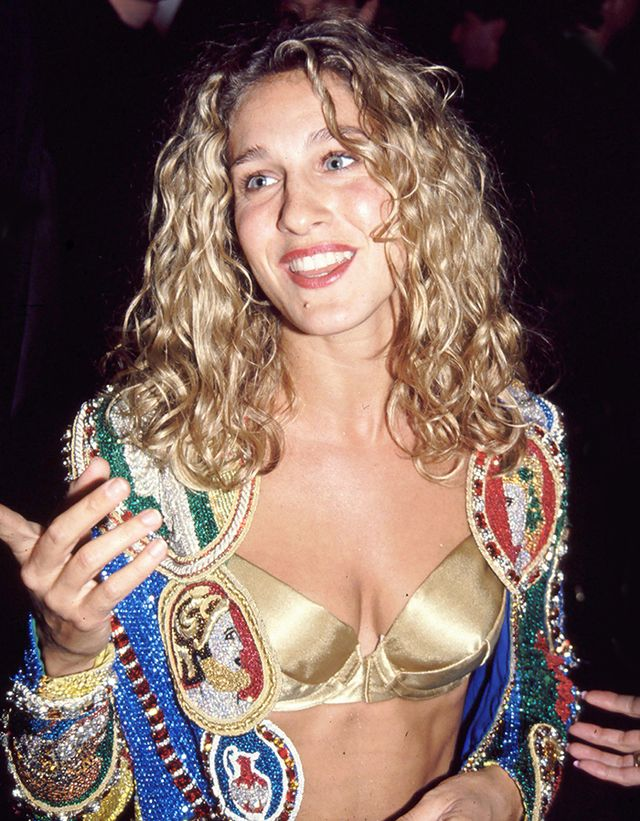 <p><strong>Who:</strong> Sarah Jessica Parker<br />