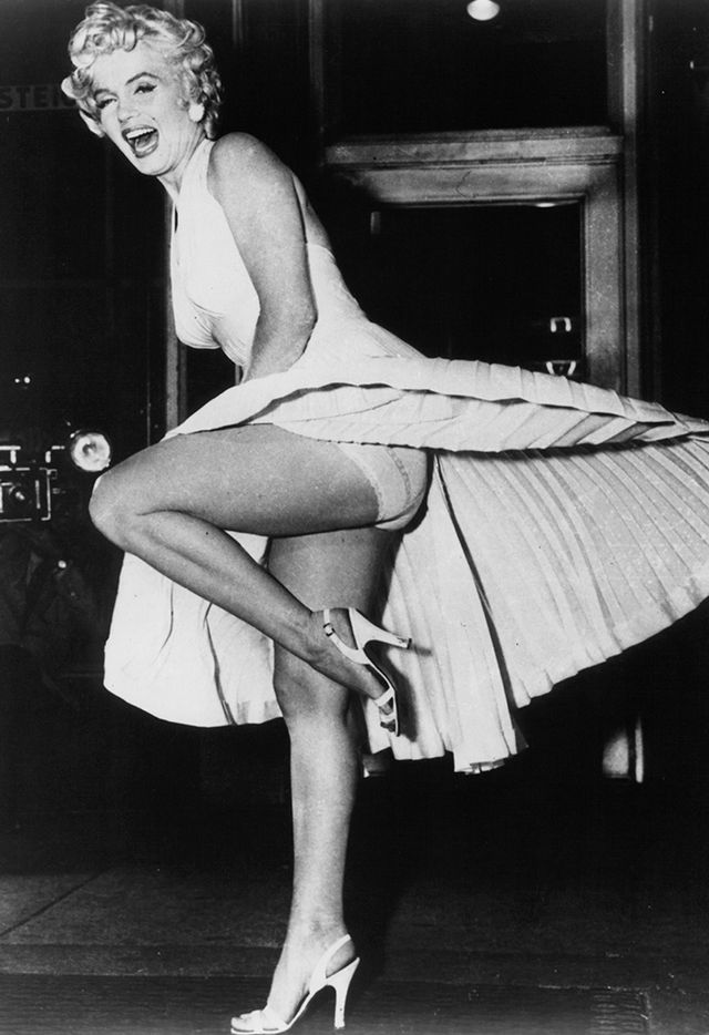 <p><strong>Who:</strong> Marilyn Monroe<br />