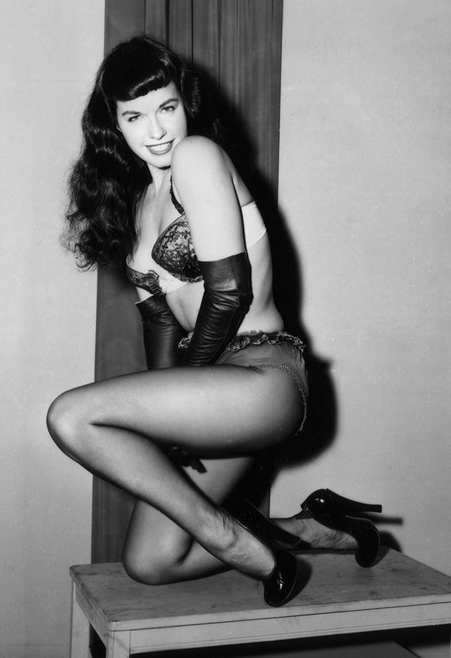 <p><strong>Who:</strong> Betty Page<br />