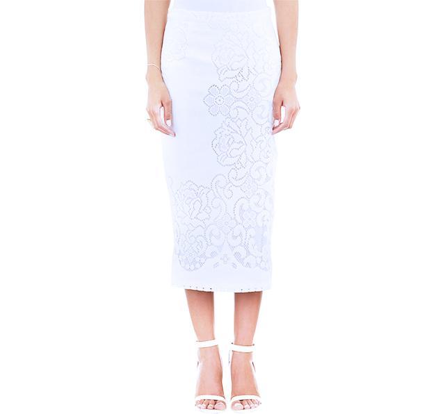 A.L.C. Lucas Lace Pencil Skirt