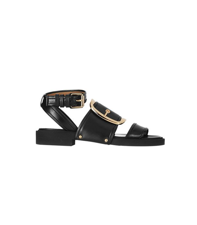 Givenchy Oversized Buckle Sandals