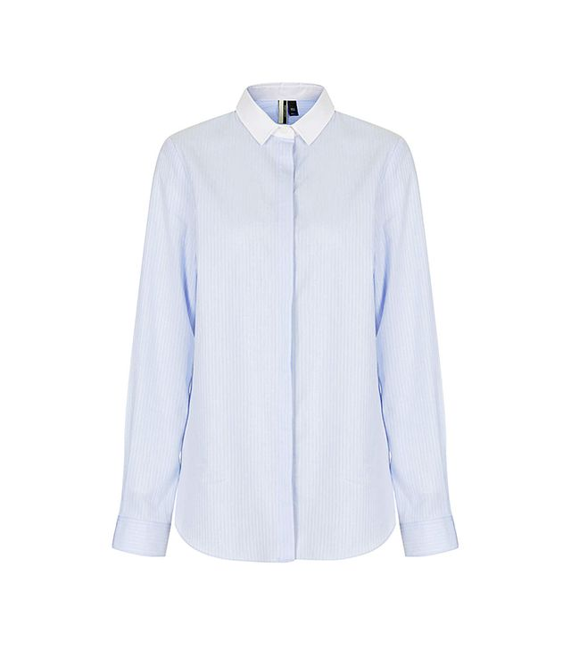 Topshop Premium Pinstripe Shirt