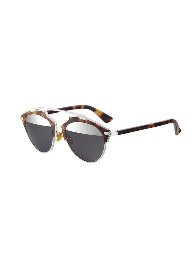 Dior So Real Metal & Plastic Sunglasses