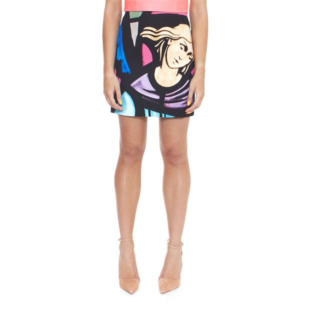 Karla Spetic Augustine Angel Mini Skirt
