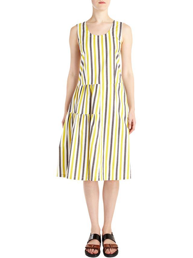 Marni Striped Sleeveless Dress