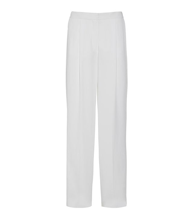 Stella McCartney Costanza Crepe Wide-leg Pants