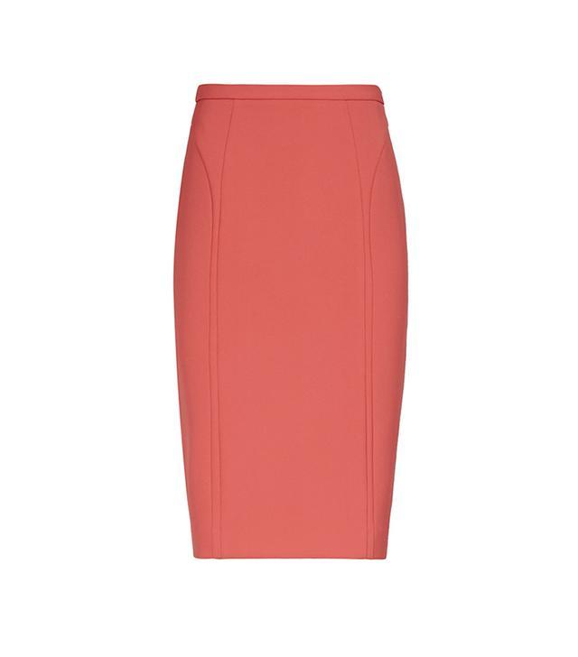 Reiss Verdi Seamed Panel Pencil Skirt