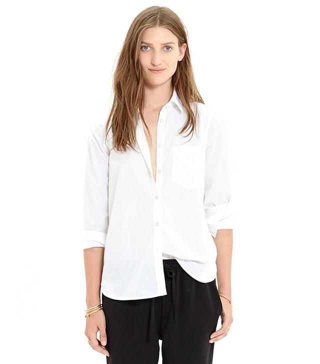 Madewell Essential White Boyshirt