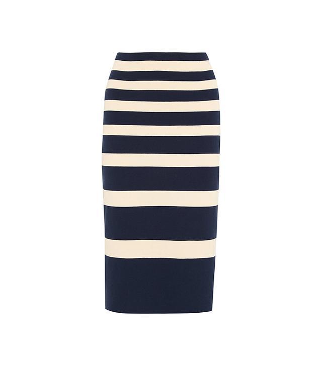 J.Crew Collection Stripe Skirt