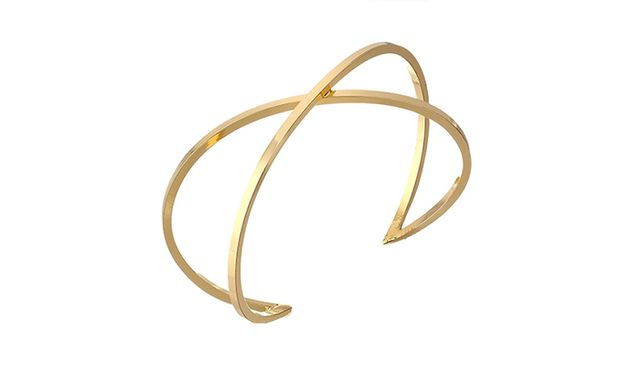 Jules Smith Big Bang Cuff Bracelet in Gold