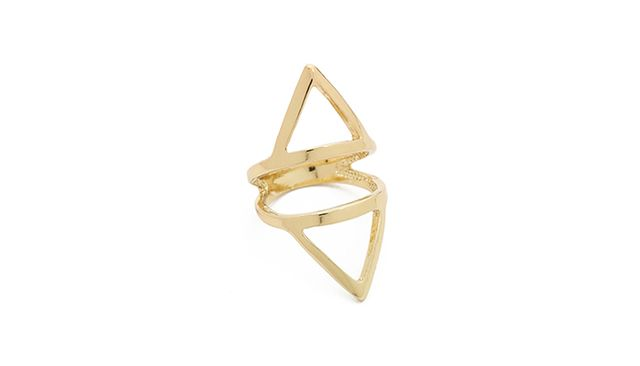 Jules Smith Cutout Ring in Gold