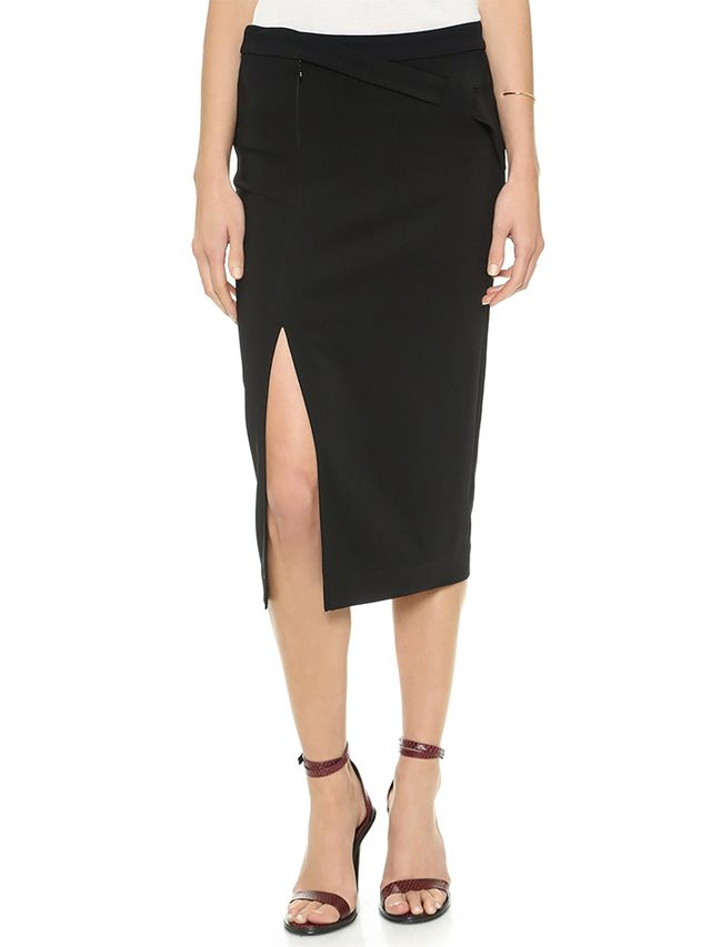 A.L.C. Paloma Skirt in Black