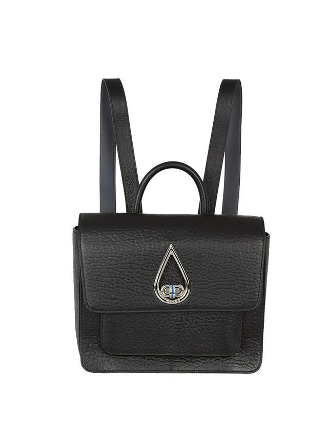 KENZO Raindrop Textured-Leather Backpack