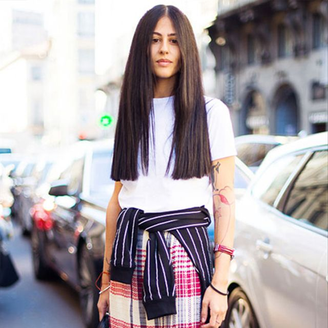 How To Mix Prints Like An It-Girl