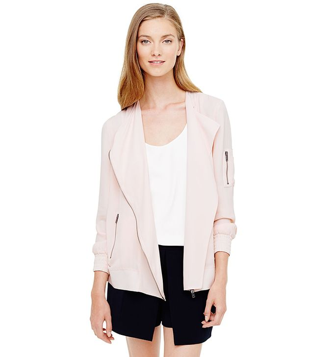 Club Monaco Adelene Silk Jacket