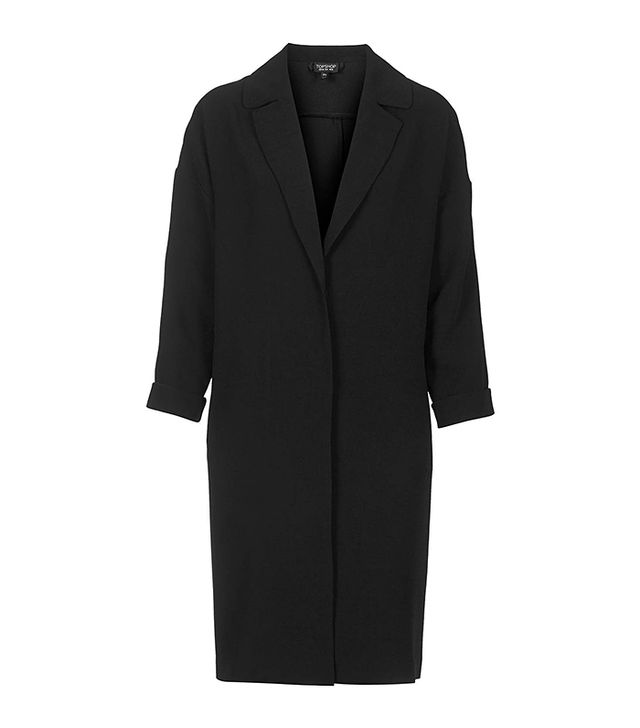 Topshop Long Line Throw On Duster