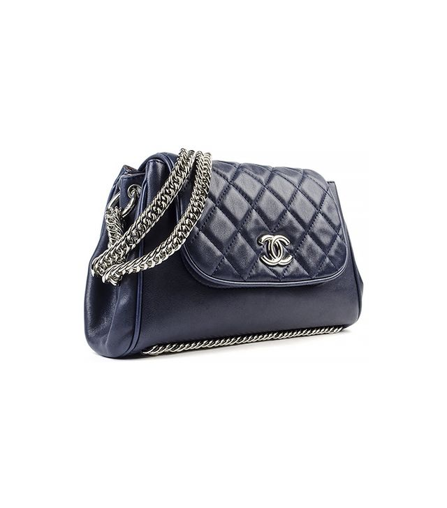 Chanel Accordion Classic Flap Bag