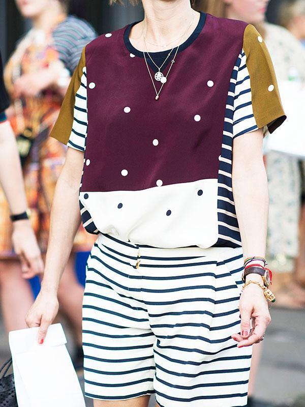 Polka Dots + Stripes